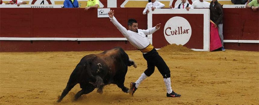 Javier Pradanas se alza como ganador en el certamen de cortes de la villa
