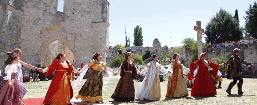 El domingo vuelve `Origen´ la II recreación histórica en el Monasterio de la Armedilla de Cogeces del Monte