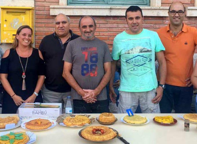 Jesús Ángel Criado, ganador del I Concurso de Tortillas de Torrescárcela