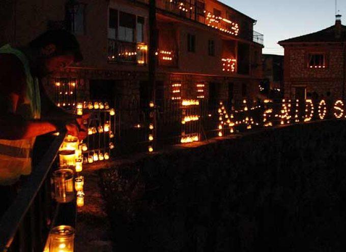 Más de 20.000 velas y antorchas iluminarán Fuentidueña la noche del 4 de agosto