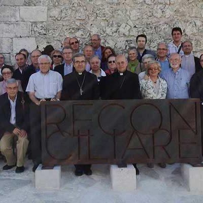 El presidente de la Conferencia Episcopal Española visita `Reconciliare´