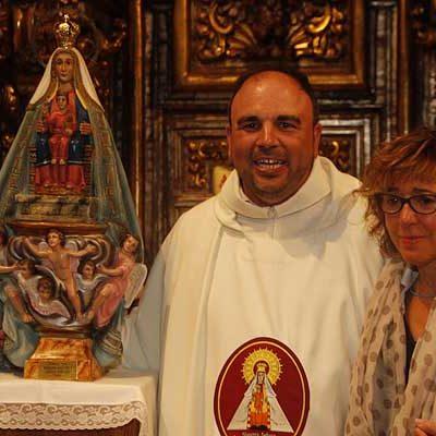 Emotiva despedida de la Unidad Pastoral de Cuéllar al sacerdote Javier Martín