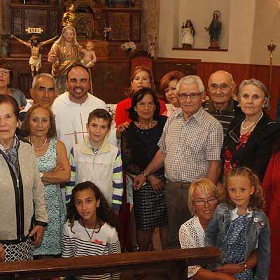 Danzas a Nuestra Señora la Nueva en las fiestas de Escarabajosa de Cuéllar