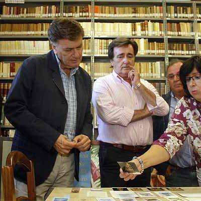 La Diputación destina 4.000 euros más a la catalogación de los fondos de la biblioteca del Santuario de El Henar
