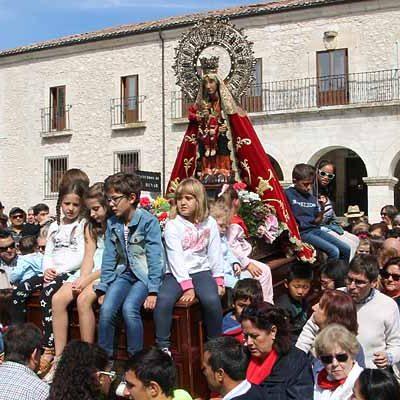 Comienzan las novenas en honor a la Virgen de El Henar