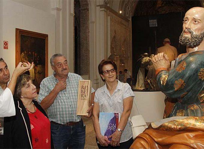 La cuellarana Rosario Ruano, visitante 100.000 de `Reconciliare´