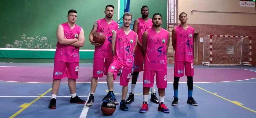 Jugadores del Basket Cuéllar.
