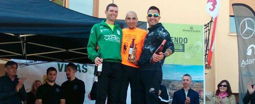 """El atleta de Atletismo Cuéllar Francisco Javier González logra un primer puesto en el circuito """"Corriendo entre viñas 2017"""""""