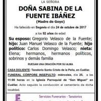 Sabina de la Fuente Ibáñez