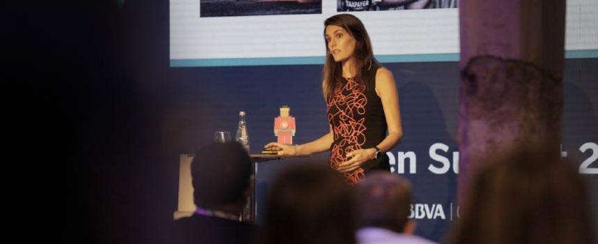 Rebeca Minguela, primera mujer en recibir el premio 'Women in Fintech' de BBVA Open Talent 2017