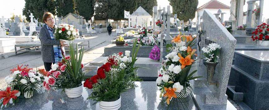 Los cementerios se visten con flores para recordar a nuestros seres queridos