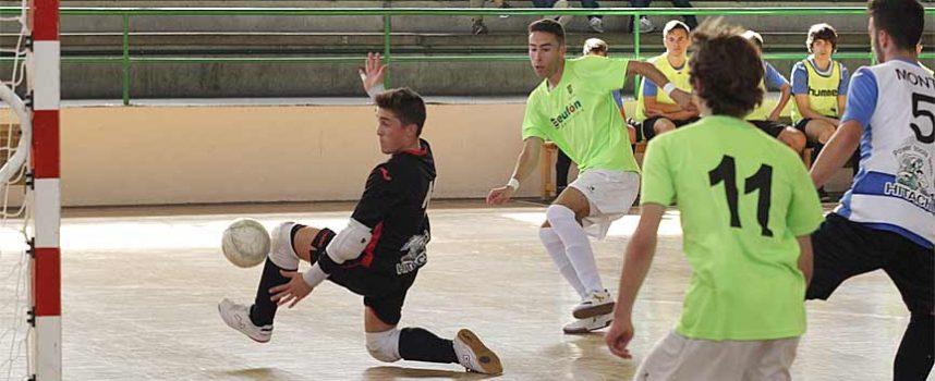 Primer partido de la segunda vuelta y último del año del FS Cuéllar de División Honor Juvenil