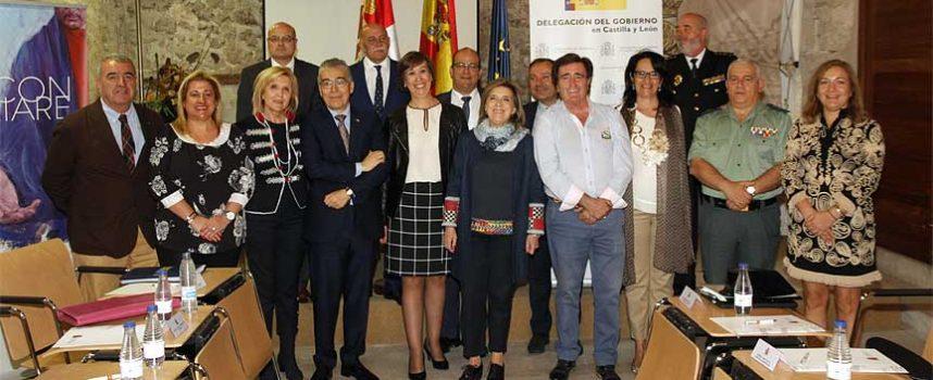 María José Salgueiro ha presidido en Cuéllar la Comisión de Asistencia a la Delegada del Gobierno en Castilla y León