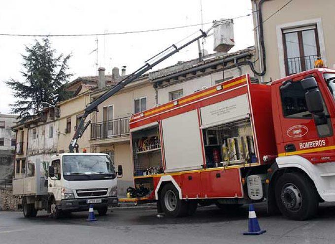 El PSOE insiste en la necesidad de que la comarca de Cuéllar cuente con más medios para la lucha contra los incendios