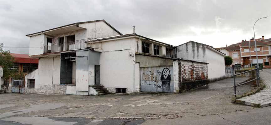 Estado actual del edificio del antiguo matadero municipal.