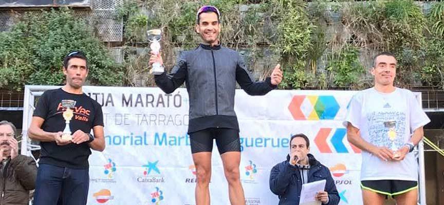 Alfredo Yusta, de Atletismo Cuéllar, alcanza el pódium de la media maratón Ciudad de Tarragona