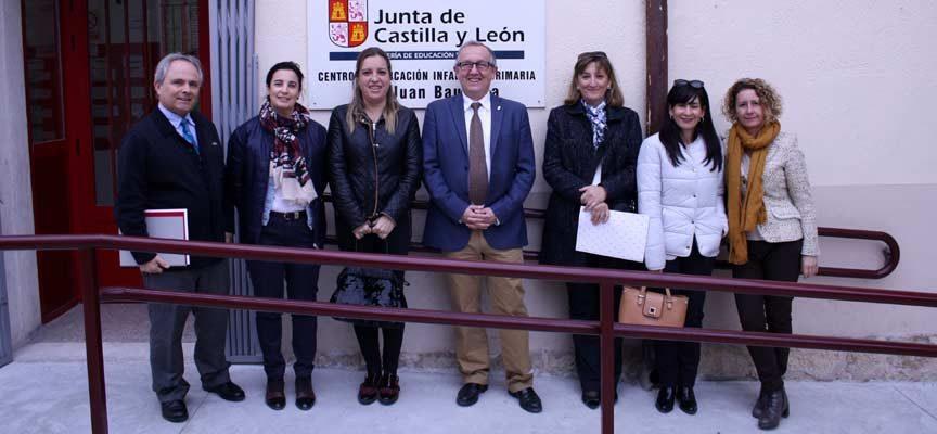 La Junta mejora la accesibilidad en el colegio 'San Juan Bautista' de Carbonero el Mayor