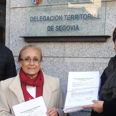 Más de 4.000 firmas reclaman a la Junta una rotonda en el cruce de la carretera de Peñafiel