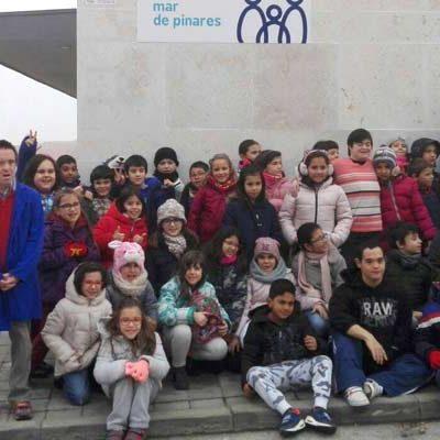 Fundación Personas recibe a un centenar de alumnos del colegio de San Gil en sus Jornadas de Puertas Abiertas