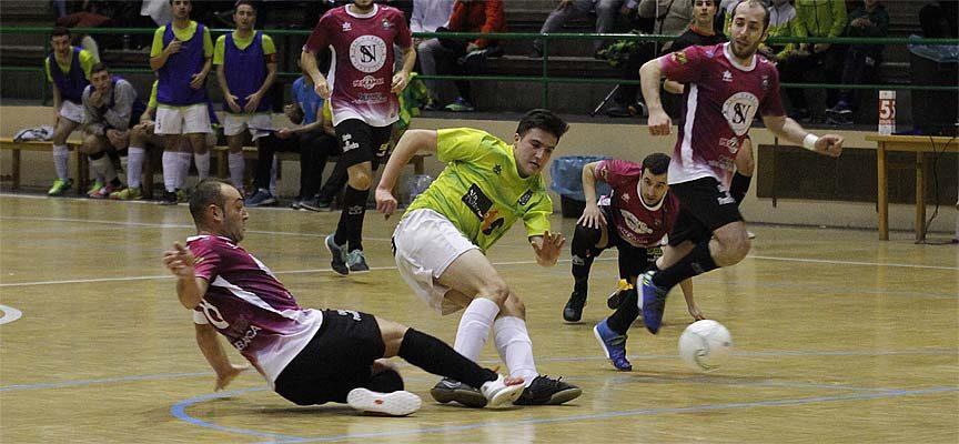 Contundente derrota del FS Cuéllar en Pontevedra