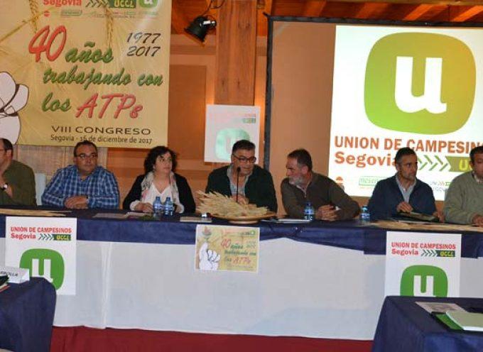 José Manuel Palomares seguirá al frente de Unión de Campesinos de Segovia que celebra su 40 aniversario