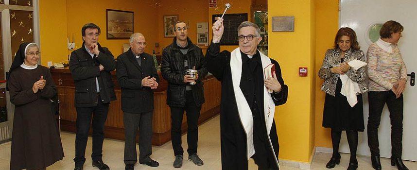 El Obispo de Segovia reinaugura la Residencia El Alamillo de Cuéllar