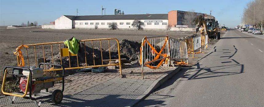 El Ayuntamiento iniciará en enero la obra de las aceras del barrio de Santa Clara
