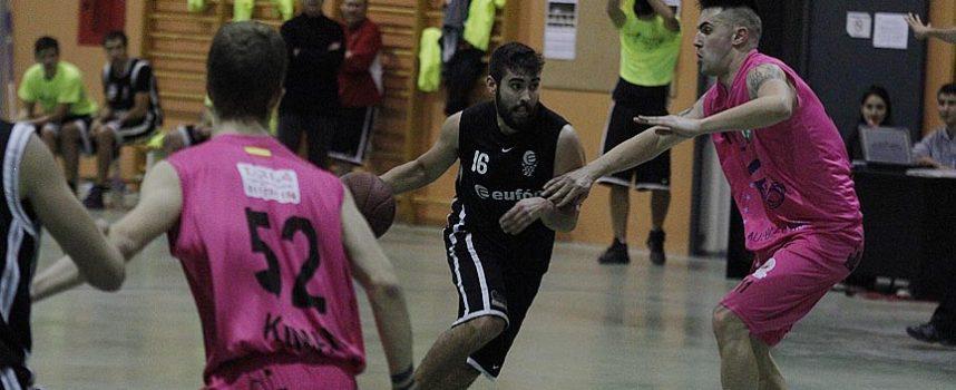 El Club Baloncesto Cuéllar ganó el primer derbi local al Cuéllar Basket Team por dos puntos