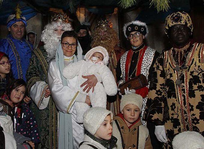 Cabalgata de Reyes bajo la lluvia