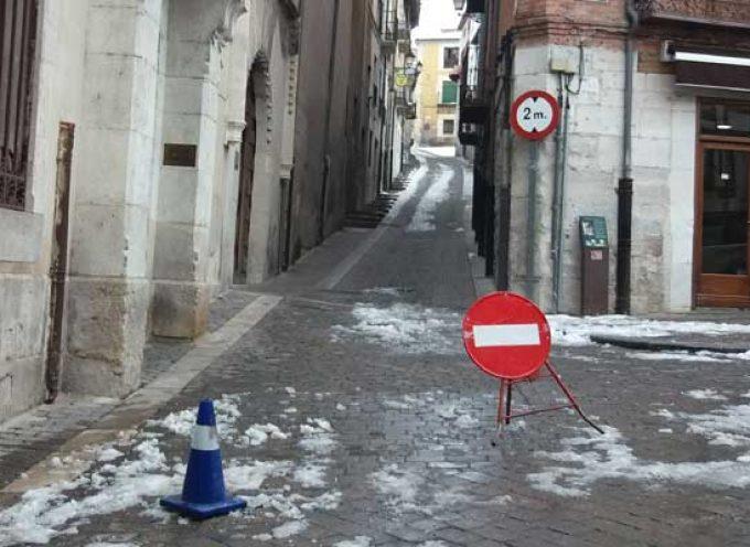 El Ayuntamiento de Cuéllar centra las tareas de limpieza en la zona norte y en los barrios