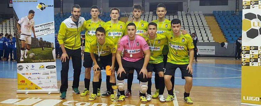 EL FS Cuéllar Juvenil se proclama subcampeón del Torneo de Navidad de Lugo y campeón del torneo provincial