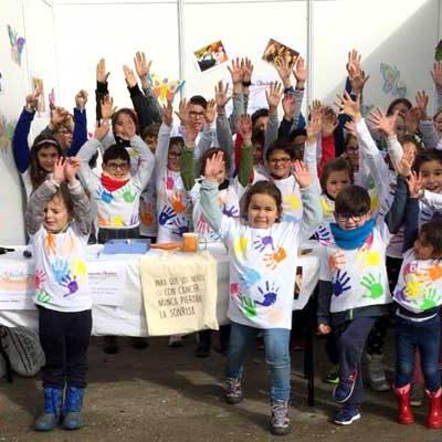 Sonrisas a beneficio de la Fundación Aladina en Zarzuela del Pinar