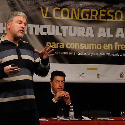 El V Congreso de Horticultura al Aire Libre debatió en Cuéllar la situación y los avances del sector