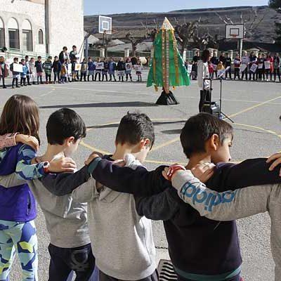 Música, poesía y teatro para celebrar el `Día de la Paz´ en Cuéllar