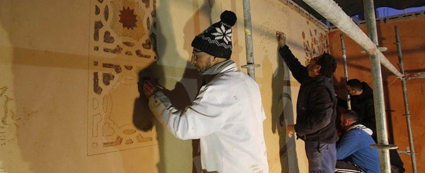 Esgrafiado y motivos locales visten los muros de Los Altos del Palacio