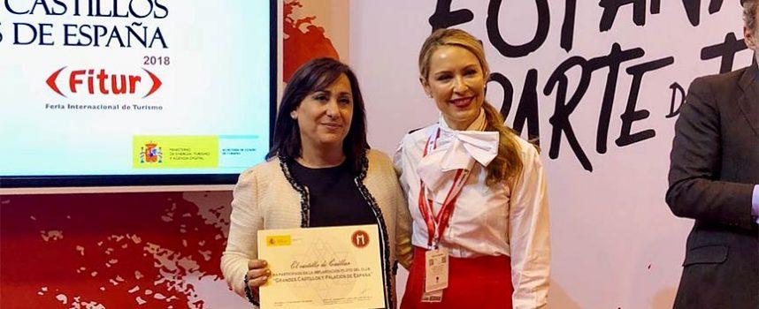 Turismo recibe el diploma por su participación en la implantación del Club de Castillos y Palacios de España