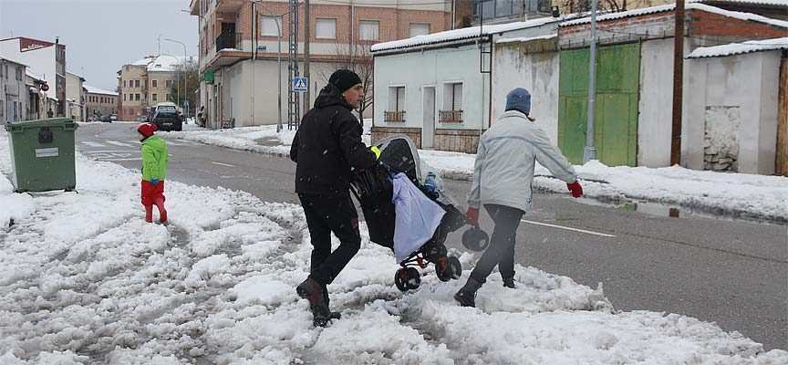 Vuelve la nieve con acumulaciones de hasta 8 centímetros en la provincia