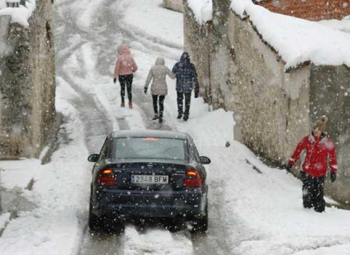 Previsión de nevadas mañana en la provincia