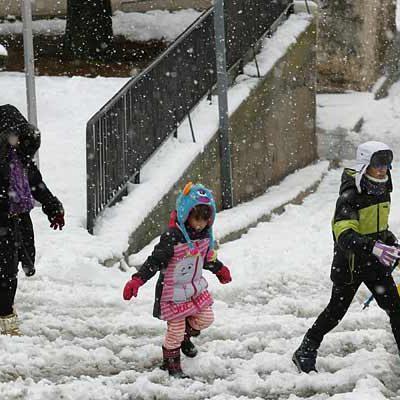La Aemet activa aviso por nevadas mañana en la provincia