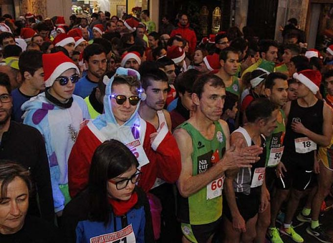 Eduardo Esteban y Ángela García repiten como ganadores absolutos de la San Silvestre cuellarana