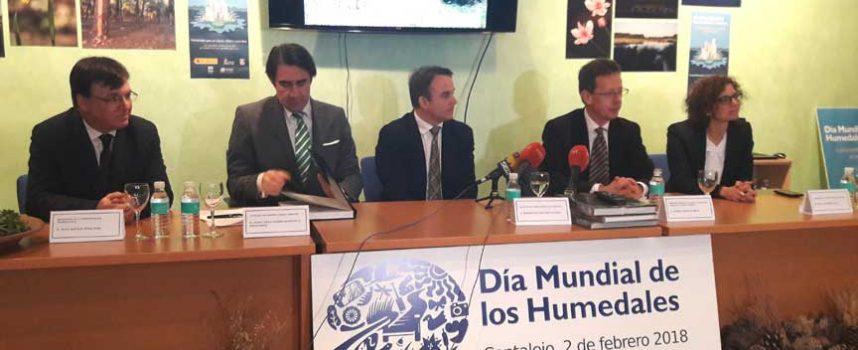Cantalejo presenta el proyecto de recuperación de sus lagunas en la celebración del `Día de los Humedales´