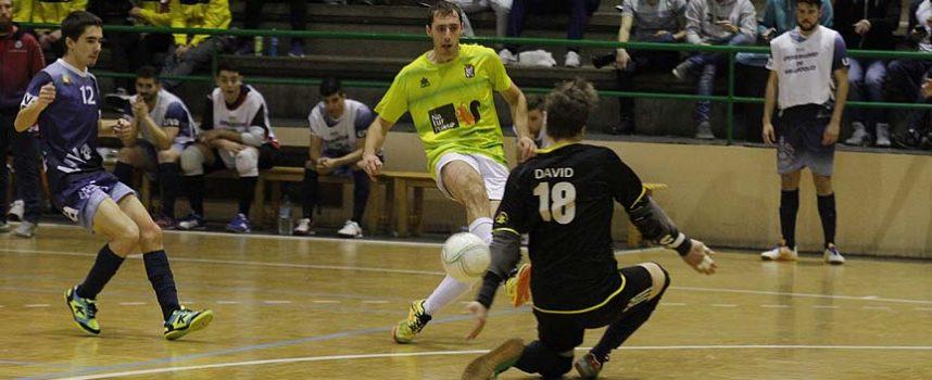 El FS Cuéllar acusa las bajas y pierde ante el Atlético Benavente