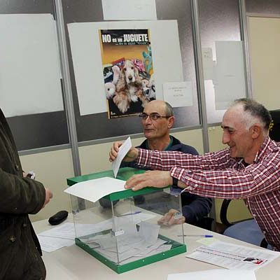 UCCL repite como la fuerza más votada en la provincia y en la comarca en las elecciones agrarias