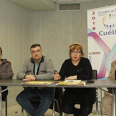 Cultura y las AMPAS de los tres colegios de Cuéllar se unen en el `Día Mundial de las Enfermedades Raras´