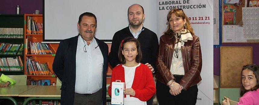 Una alumna del CEIP Santa Clara premiada en el Concurso Seguridad y Salud de la Fundación Laboral de la Construcción