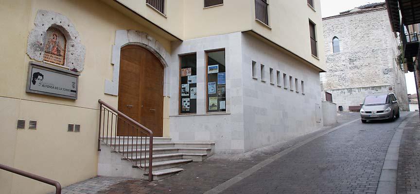 Sala cultural Alfonsa de la Torre. |