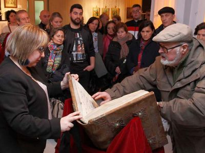 Una exposición recorre `Los siete dolores de la Virgen´ a través de imágenes y elementos del patrimonio cuellarano