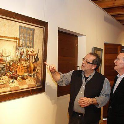 """Ricardo Renedo propone un """"retorno al pasado"""" a través de su obra en la sala Tenerías"""