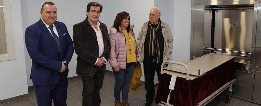 El segundo crematorio de la provincia abre sus puertas en Cuéllar
