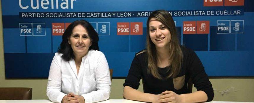 El PSOE de Cuéllar se suma al paro de dos horas del 8 de marzo